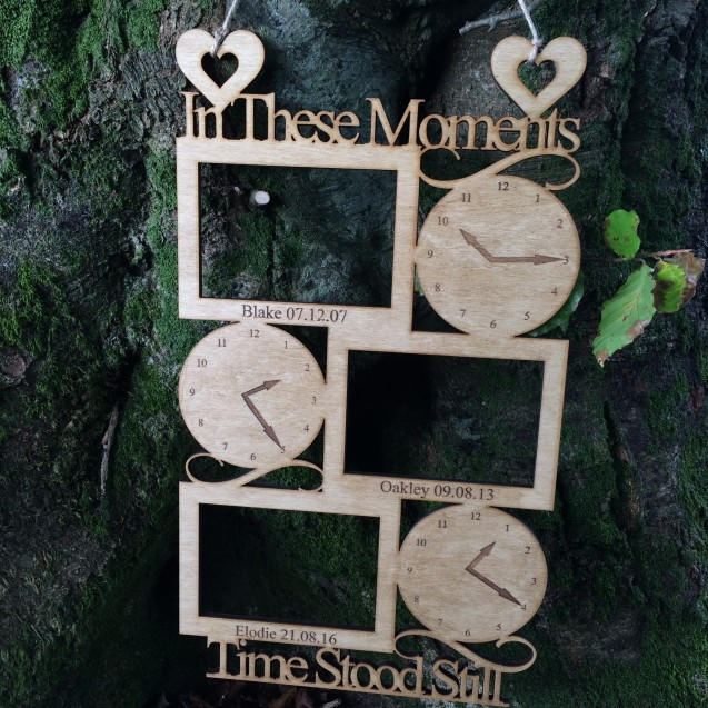 In These Moments Time Stood Still 3 Person Frame