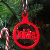 Coloured Acrylic Name Bauble