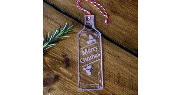 Merry Ginmas Decoration