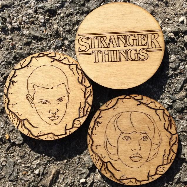 Stranger Things Coaster Set
