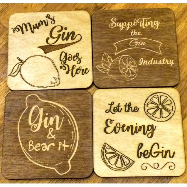 Gin Coasters
