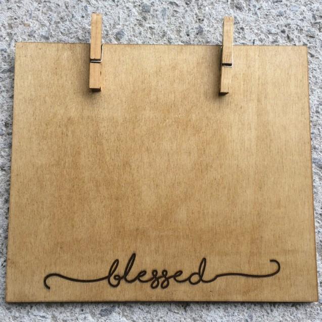 Large Wooden Peg Frame