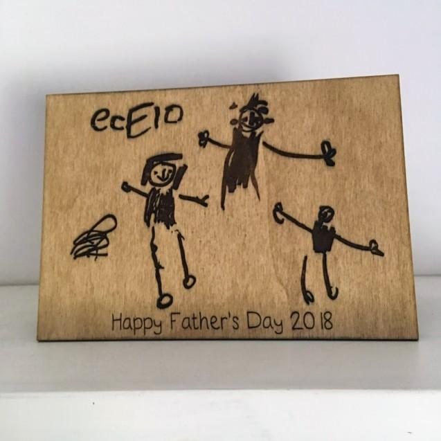 Kid's Drawing Card