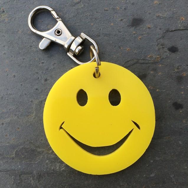 Smiley Keyring