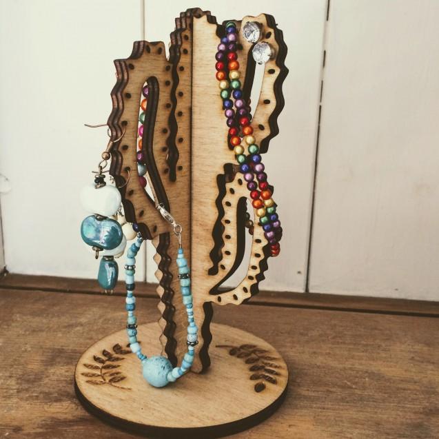 Cactus Jewellery Holder