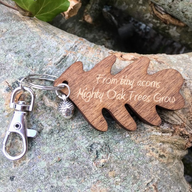 From Tiny Acorns Keyring
