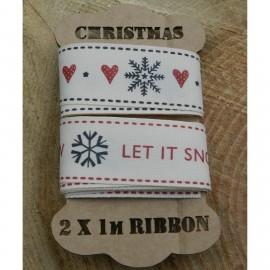 Christmas Ribbon Spool