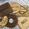 Set of 6 Biscuit Coasters