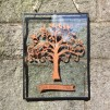 Family Tree in a Glass Frame