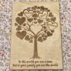 Mum's Family Tree Card