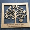Teacher Apple Tree Plaque