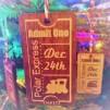 Train Ticket Decoration